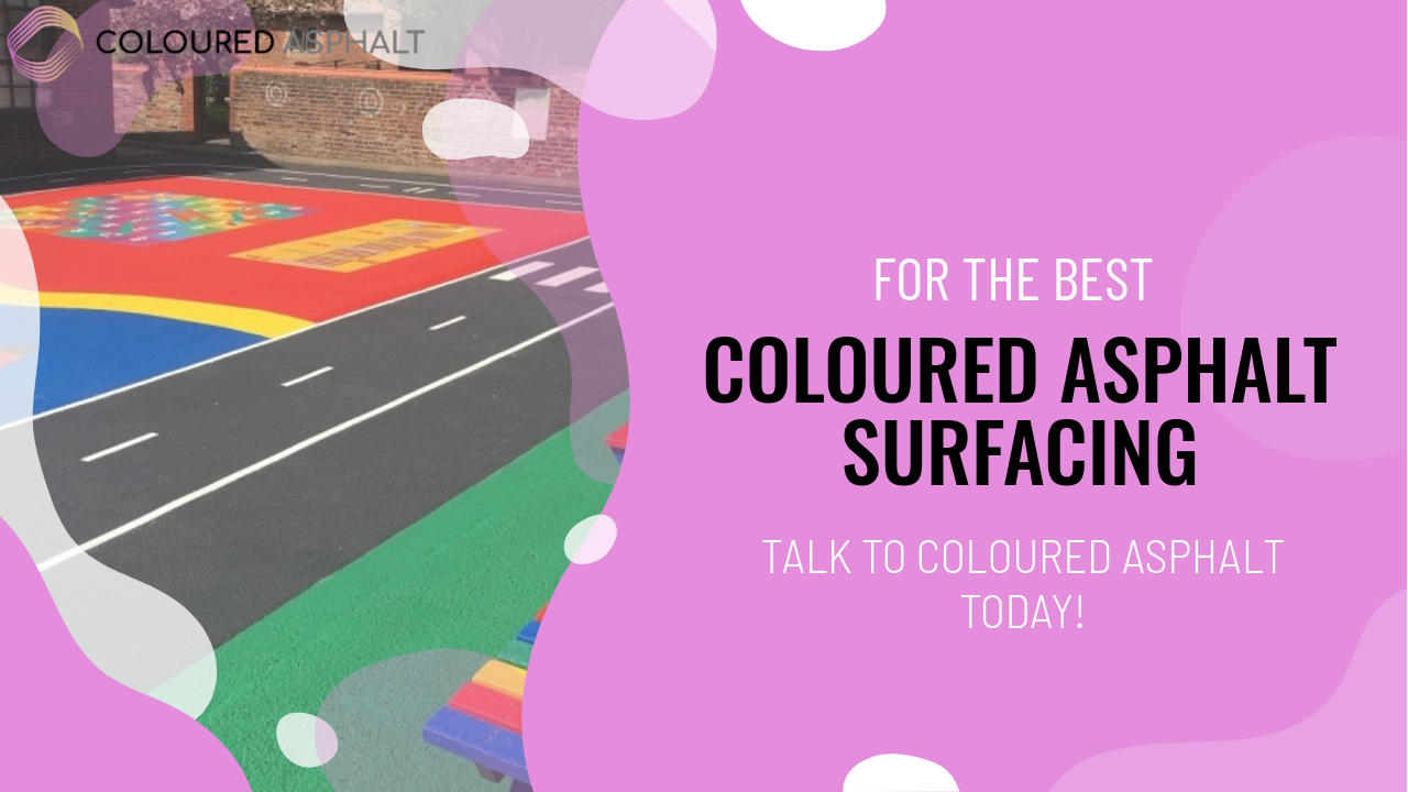 Coloured playground surfaces