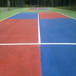 Coloured Macadam in Ashover 3