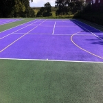 Coloured Macadam in Ashover 9