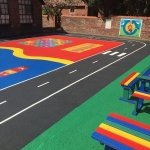 Coloured Macadam in Ashover 7